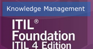 مدیریت دانش در ITIL4